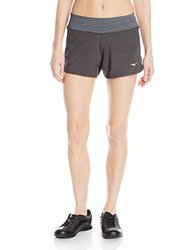Mizuno Running Women's Alia Shorts, Turbulence, Small