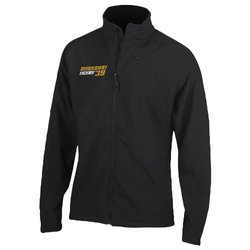 NCAA Missouri Tigers Summit Soft Shell Jacket - Black - Size: Small
