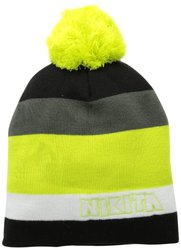 Nikita Women's Stanley Beanie - Black/White/Lime Punch - Sz: NSmall