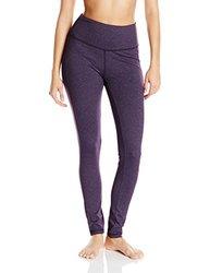 KAVU Women's Tara Tights Velvet Leggings - Purple - Size: X-Small