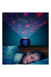 Northwest Stars Projector And Clock With Soothing Lullabies 72-m1228