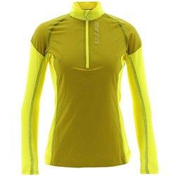 Adidas Women's Terrex Swift Skyclimb Top - Bright Yellow - Size: X-Large
