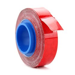 Panduit PMDR-RED Polyester Marker Tape Refill - Red - Pack of 10