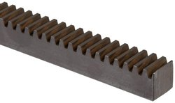 "Martin 6' Gear Rack - 10 Pitch - 0.525"" Pitch Line Backing (R10X6)"