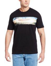 Speedo Men's Pier Reflection Short Sleeve T-Shirt - Black - Size: Large