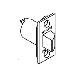 """Schlage 2 3/4"""" Replacement Spring latch - Polished Brass"""