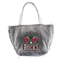 NBA Milwaukee Bucks Vintage Tote, Black