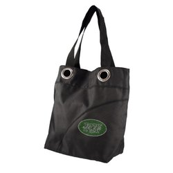 Littlearth NFL New York Jets Sport Noir Sheen Tote Purse - Blk - One Size