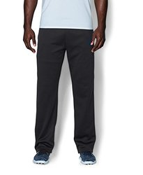 Under Armour Men's Armour Fleece Pants - Black/Steel - Size: Small