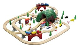 Maxim Enterprises 100-Piece Mountain Train Set