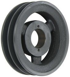 Browning 2BK65H Bushed Classical Gripbelt Sheave, 4L or A, 5L or B Belt, 2 Grooves, Uses H Bushing