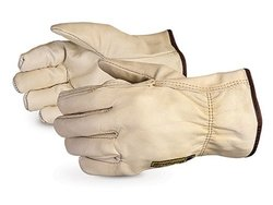 Superior Leather American Driver Glove with Winter Fleece 12 Pcs - Size:XL