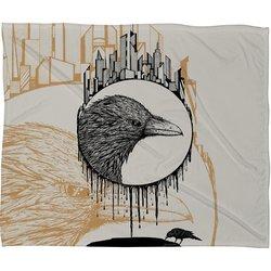 Deny Designs Brandon Dover Scavenger Fleece Blanket - Multi - Siz: 50 x 60
