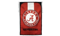 "Little Earth NCAA Alabama Tide Team Fan Flag - Red - Size: 31.5"" x 47"""