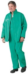Onguard Sanitex Bib Overall with Plain Front - Green - Size: 4X