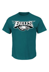 VF LSG NFL Men's Posted Victory IV Tee - M Green Heather - Size: X-Large