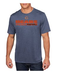 VF LSG NFL Men's Posted Victory IV Crew Neck Tee - N Heather - Size: XL