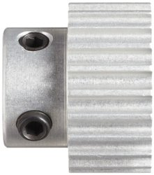 Boston Gear 26 Groves Timing Pulley for 6mm Wide Belts - Aluminum