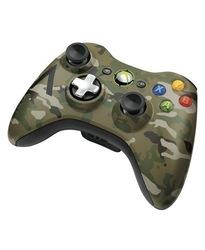 Microsoft Xbox 360 Camouflage Wireless Controller 43G-00049