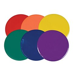 Champion Sports 12In Extra Large Poly Spot Marker Set (set)
