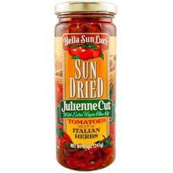 Bella Sun Luci Sun Dried Tomatoes Julienne in Oil 12 Per Case - 8.5oz