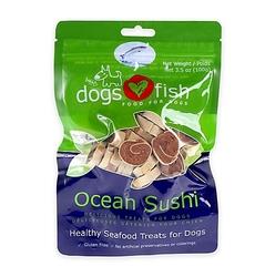 Dogs Love Fish Ocean Sushi Dog Treat - 3.5 Oz