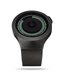 Ziiiro Men's Saturn Digital Watch - Black (Z0008WB)