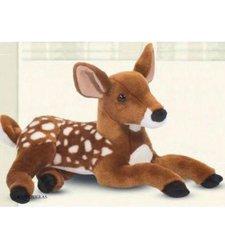"Douglas Cuddle Dawn Fawn Plush Toy - Size: 15"""