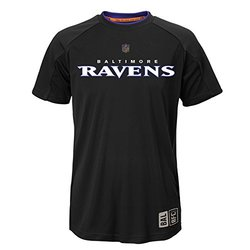 NFL Youth Boys Baltimore Ravens Covert T-Shirt - Black - Size: Small