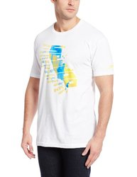 Speedo Men's Out of Beach Short-Sleeve T-Shirt - White - Size: Large