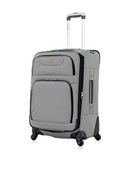 "SwissGear Travel Gear 24"" Spinner  - Pewter"