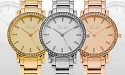 So & Co New York Women's Madison Dress Watch - Rose Gold