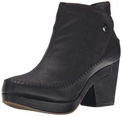 JBU Women's Jazz Boot, Black, 8 M US