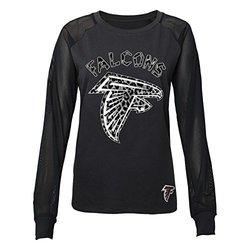 NFL Juniors 0-17 Atlanta Falcons Mesh Top - Black - Size: Small (3/5)