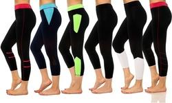 S2 Sportswear Women's Moisture Activewear Capri - Mystery Deal - Size:M