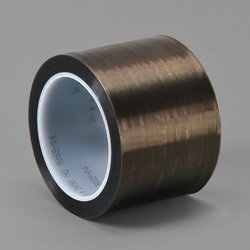 """TapeCase 4"""" width x 5yd length (1 roll), Converted from 3M 5490 Gray PTFE/UHMW Tape"""