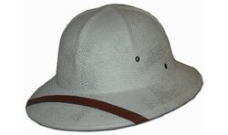 Dorfman Pacific Co. Men's Fine Twisted Toyo Pith Helmet, Tan, One Size