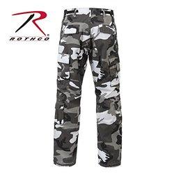 City Camo/Urban Camouflage Paratrooper Cargo Pants - 2XL