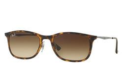 Ray Ban Unisex RB4225 Lens Sunglasses - Tortoise/Brown