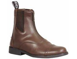 TuffRider Ladies Baroque Zip Pad Boots 11 Mocha Mocha