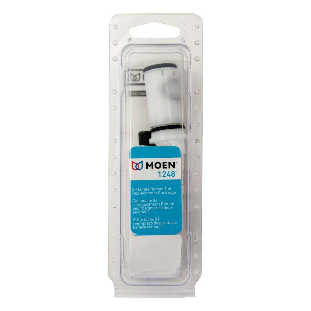 Moen 2-Handle Replacement Cartridge for Moen Roman Tub Faucets ...