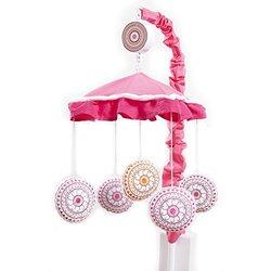 One Grace Place Sophia Lolita Mobile, White, Pink, Berry, Orange, Black