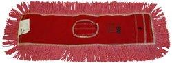 "Zephyr 12435 Pro-Blend Red Dust Mop Head, 48"" Length x 5"" Width (Pack of 6)"