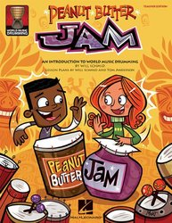 Peanut Butter Jam: World Music Drumming Paperback Hal Leonard - 2009