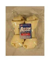 Pet Factory 8 Inch Usa Beefhide Bones 2 Pack - 79208