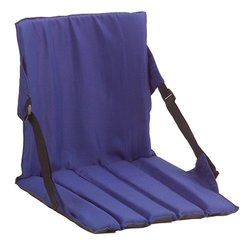 "Coleman Water-resistant Stadium Roomy 15.5"" Seat - Blue"