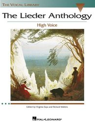 The Lieder Anthology High Voce Ed V Saya & R Walters Vocal Library 264 Pg