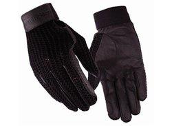 TUFFRIDER Crochet Back Glove - Black 6