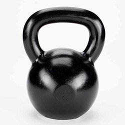 Troy Body Solid Kettlebell - Black - 10Lb