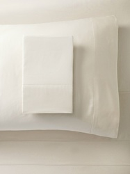 Home Source Bamboo Solid Deep Pocket Sheet Set - Beige - Size: King